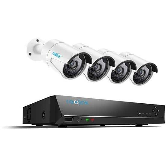 Reolink 4 Camera 8-Channel PoE Security Camera System 1